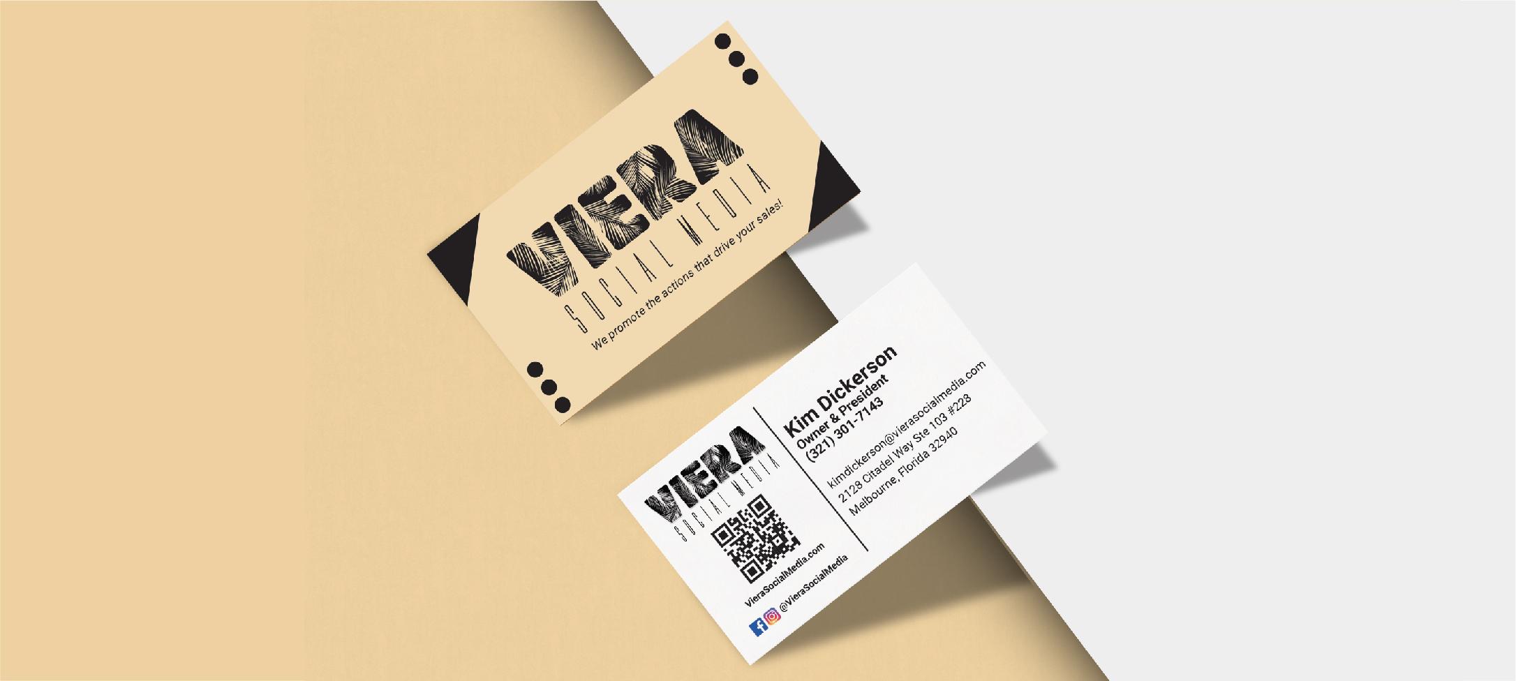 Viera Social Media Business Card